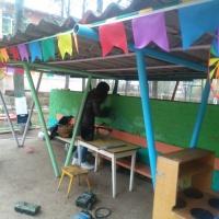 Фотоотчет по проектной деятельности «Детская площадка 2016»