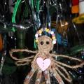 Мастер-класс: поделка из шпагата «Рождественский ангел на елку»