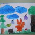 Фотоотчет выставк детских работ «Природа вокруг нас»