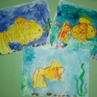 Фотоотчет о художественном творчестве на тему «Подводный мир морей и океанов»
