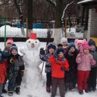 Фотоотчет о зимних развлечениях «Здравствуй, зимушка-зима»