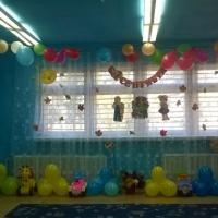 Оформление музыкального зала к празднику «1 сентября»