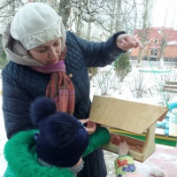 Фотоотчёт о проведении акции «Птицы наши друзья»