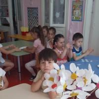 Конспект НОД по лепке «Ромашка»