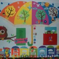 Календарь природы для детского сада своими руками из фетра и фоамирана
