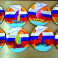 Поделка к празднику 23 февраля «Тарелочка Защитнику Отечества»