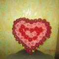 Мастер-класс по свит-дизайну «Сладкое сердце из цветов»