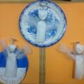 Мастер класс «Рождественский ангел» для кружковых занятий с детьми старшей и подготовительной групп.