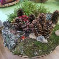 Поделка из природного материала «Осенний лес»