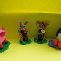 Мастер-класс по лепке из пластилина «Пингвин»