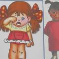 Дидактическая игра для дошкольников «Эмоции в игре «Четвертый лишний»