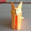 Оригами «Лисичка» для детей 4–5 лет. Мастер-класс