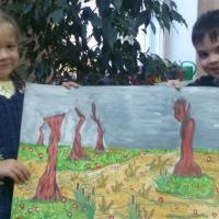 Фотоотчёт проекта «Русский народный календарь в ознакомлении детей 4–5 года жизни с природой»