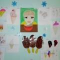 Выставка детских рисунков «Сладкое лакомство»