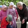 Знакомство дошкольников во свойствами песка