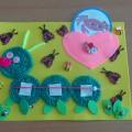 Дидактическая игра «Веселая гусеница»