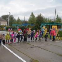 Фотоотчет о проведении Кросса нации на территории детского сада