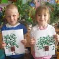 Мастер-класс «Изготовление детьми поделки «Скворечник на дереве» с использованием бросового материала»