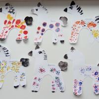 Конспект занятия «Роспись дымковской лошадки» по рисованию в старшей группе