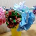 Изготовление цветка из ткани. Мастер-класс