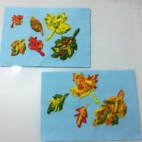 Мастер-класс по рисованию объёмными красками «Осенние листья»