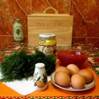 Рецепт закуски к новогоднему столу «Раковые шейки»