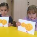 Конспект открытого занятия во второй младшей группе— аппликация «Как у нашей у наседки были желтенькие детки»