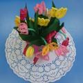 Мастер-класс «Весенние цветы для мамы». Квиллинг