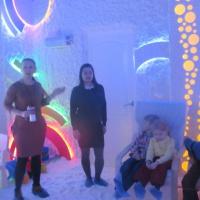 Фотоотчёт об экскурсии «Как ребята ходили в «соляную пещеру» за здоровьем»