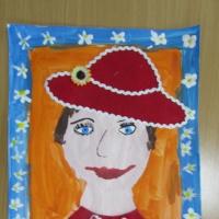 Фотоотчет о творческих работах «Моей мамочки портрет»