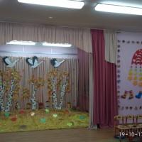 Оформление музыкального зала к осенним праздникам