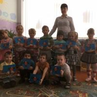 Конспект комплексной организованной образовательной деятельности по ФЭМП и аппликации для детей средней группы
