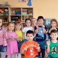 Фотоотчет о мастер-классе по по росписи кожлянской игрушки-свистульки