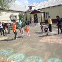 «День здоровья». Мероприятие на свежем воздухе для детей совместно с родителями