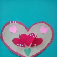 Мастер-класс по изготовлению открытки из бумаги «Для любимой мамочки»