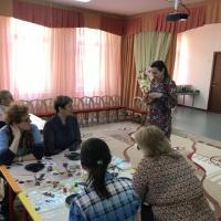 Мастер-класс для педагогов по обмену опытом в номинации «Декоративно-прикладное творчество»