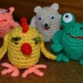 Мастер-класс по изготовлению вязаной игрушки «Цыпленок»
