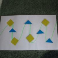Дидактическая игра по математике во второй младшей группе «Продолжи цепочку»
