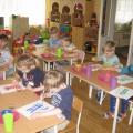 Рисование «Листочки деревьев» (красками) НОД для младшего дошкольного возраста