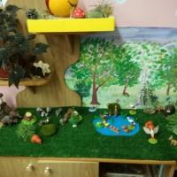 Конспект занятия в мини-музее «Лес»