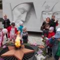 Фотоотчёт о проведённой экскурсии детей подготовительной группы к Мемориалу Славы