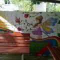 Оформление прогулочной беседки в детском саду своими руками