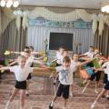 Спортивно-физкультурный досуг «Школа молодого бойца» для детей старшей и подготовительной группы