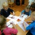 Конспект занятия во второй младшей группе в нетрадиционной технике рисования «Волшебное осеннее дерево»