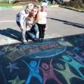 Сценарий досугового мероприятия для детей и родителей «Конкурс рисунков на асфальте «Мир— глазами ребенка»