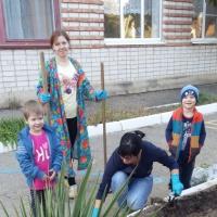 Мы цветы на клумбе посадили, чтобы было больше красоты! Посадка с детьми цветочных растений