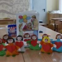 Конспект занятия для детей подготовительной группы «Поздравляем маму»