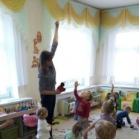 Игротренинг «Божья коровка» в первой младшей группе по адаптации к ДОУ