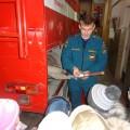 Фотоотчет о посещении пожарной части по проекту «Огонь зря не тронь!»