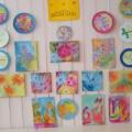 «Цветная сказка». Выставка детских работ в нетрадиционной технике рисования «батик»